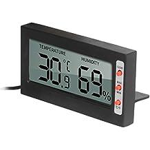 POPETPOP Higrómetro termómetro para Mascotas Reptil para Lagarto Lagarto Serpiente Gecko Lagarto