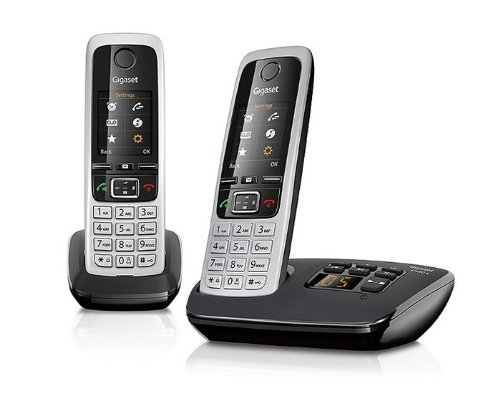 gigaset-c430a-cordless-phone-with-answering-machine-and-anonymous-call-silencing-pack-of-2