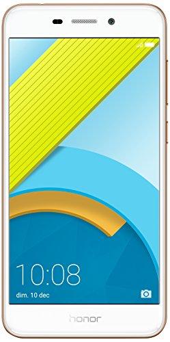 Honor 6C Pro Smartphone Portable débloqué 4G (Ecran: 5,2 Pouces - 32 Go - Double Nano-SIM - Android) Or