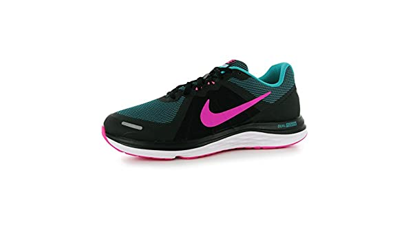 Nike Dual Fusion 2 Scarpe da Corsa - Nero Rosa Verde Run Scarpe Sneakers 5d805f6d41a7e