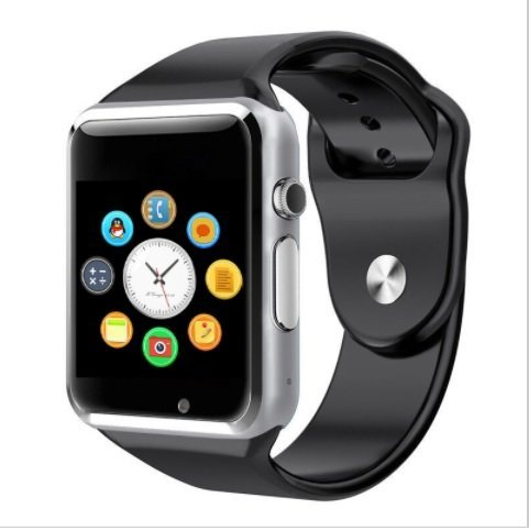 Micromax Yu Yureka AQ5510 / AO5510 Compatible Bluetooth GT08 Wrist Watch Phone with Camera & SIM Card Support New Arrival Best Selling Lowest Price with Apps Touch Screen, Multi Language with all mobile phones (42 mm) BY Casreen  available at amazon for Rs.1399