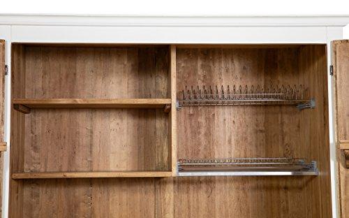 Credenza Da Cucina Legno : Biscottini credenza cucina in legno massello di tiglio struttura
