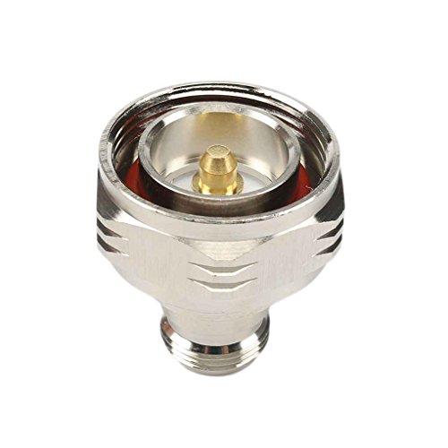 Fangfeen 1pcs L29 16.07 Din N weiblicher Jack-Stecker RF-Silber-Farbe Kupfer Adapter Durable Low-Loss-Anschluss - Low Loss-anschluss