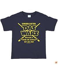 """Einschulungs Shirt für Jungen & Mädchen,Kinder T-Shirt """" Das wars """" farbig"""