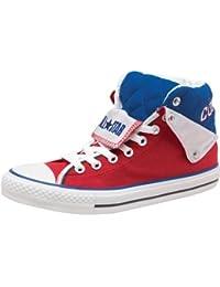 73852c8d6aad4 Converse CT All Star - Sneaker da Uomo con Colletto Imbottito Rosso e Blu