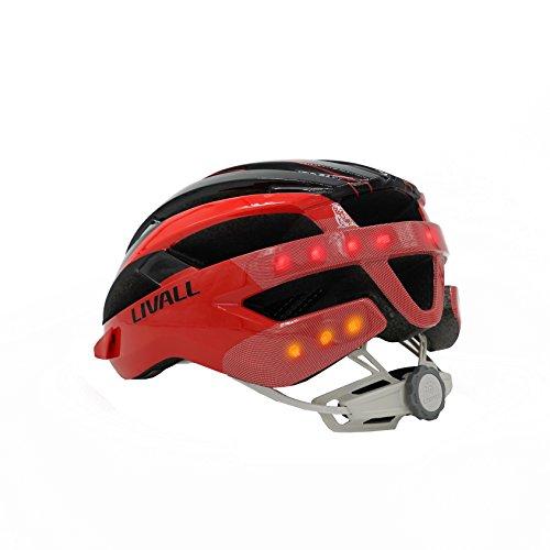 Livall MT1 Fahrradhelm (Schwarz / Grau) – 32001045 - 2