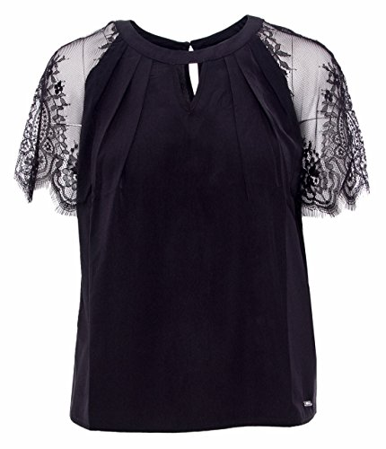 Guess SS BEGO, Blusa Donna Nero