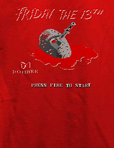 Friday The 13Th T-Shirt Rot