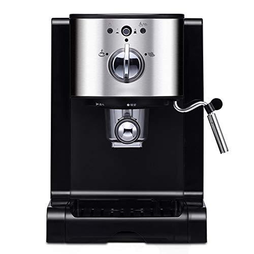 GxyWan Kaffeemaschinen-Dampf-Milch-Schaum-1.5L Edelstahl-Kapsel-Kaffeemaschine, halbautomatische...