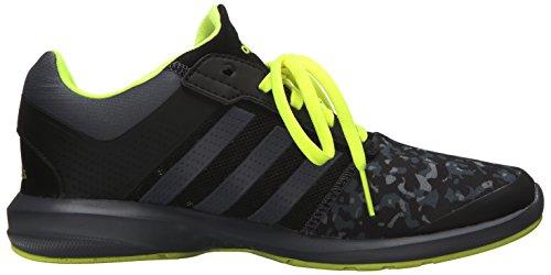 adidas Unisex, bambini Adidas S-flex K scarpe sportive Black/Onix/Solar Yellow