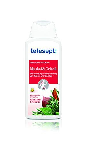 tetesept Muskel und Gelenk Dusche 250 ml, 5er Pack (5 x 1 Stück)