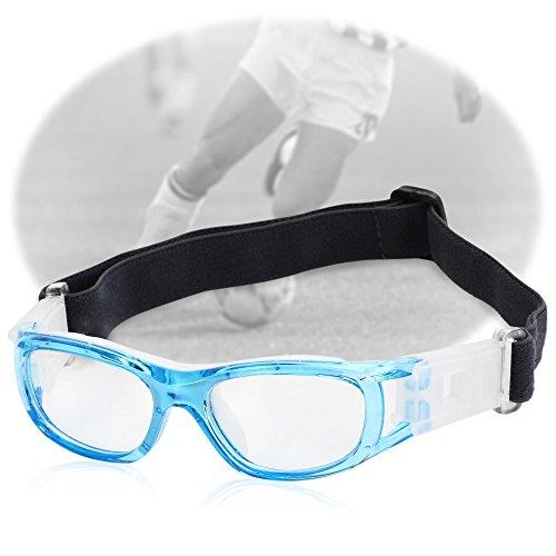 DDG EDMMS Sportbrille, für Babys, Basketball, Fußball, Sportbrille, Polycarbonat, Blau