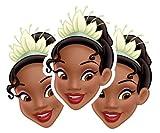Star Cutouts-stsmp48-3máscaras para Adulto Tiana-Disney la Princesa y la...