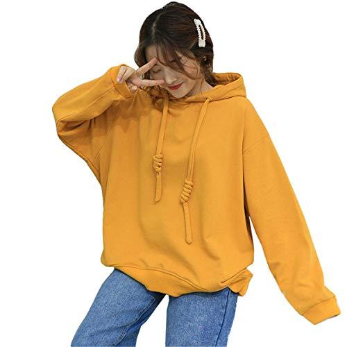 Smnyi Kawaii Sport Sweatshirt Young Fashion Elegant Jumper Lässige Retro Kapuzenpullis Oversize Damen Hoodie Warme College Pullover College Hoodie Sweatshirt