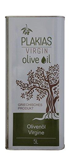 Preisvergleich Produktbild 5 Liter Olivenöl virgin nativ aus Plakias Kreta 5L Kanister Oliven Öl wie aus Kretas Tavernen Griechenland Koroneiki und Tsunaten Mix mild kretisches Oliven Öl