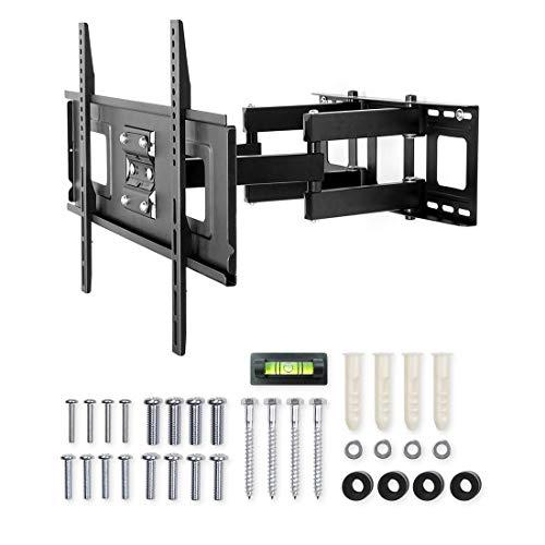 Fleximounts A04 LCD TV-Wandhalterung/Fernsehhalterung für LED LCD Plasma, mit Wasserwaage, schwenkbar, neigbar (32-65 Zoll   max.VESA 600x400)