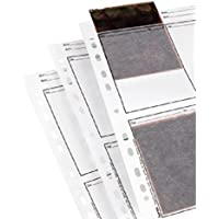 Hama - Negative sleeves, 9 x 12 cm, Glassine matt, 300 mm, 230 mm (importado)