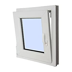 ventana: Ventana PVC Practicable Oscilobatiente Izquierda 500X600 1 hoja con vidrio Cargl...