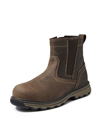 Cat Workwear pelt 05430 Pelton p720781 alta scarpe antinfortunistiche S1P, 43, Marrone