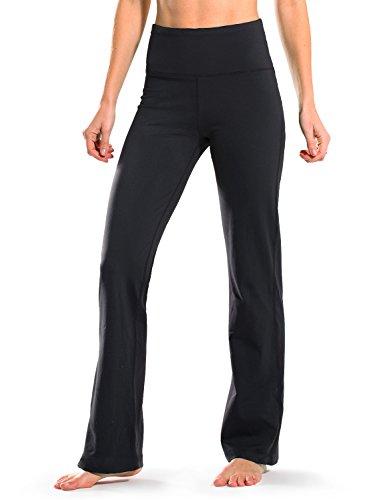 Safort Regular/Tall Bootcut Yoga Hose mit 71cm/76cm/81cm/86cm Schrittlänge, 2 Hosentaschen,Lange Bootleg-Hose, Flare-Hose, XL Bootleg-hose