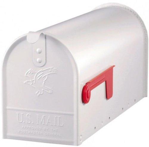 Original EE.UU, Mailbox - ELITE - acero - Blanco - Talla T1 Art E1100W00