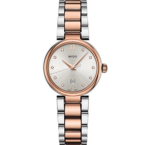 Mido Women's Baroncelli II Diamond 29mm Quartz Analog Watch M022.210.22.036.00