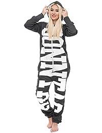 0e16481b72f6d5 Loomiloo Jumpsuit Freizeitanzug Overall Hausanzug Einteiler Strampler Anzug  Pyjama Sonntag…