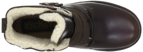 Kickers Rockshow 152022-50 Schnür Stiefelette Braun (marron fonce 92)