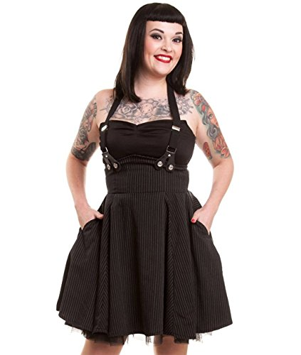 Rockabella - Robe - Dos nu - Femme Noir - Noir