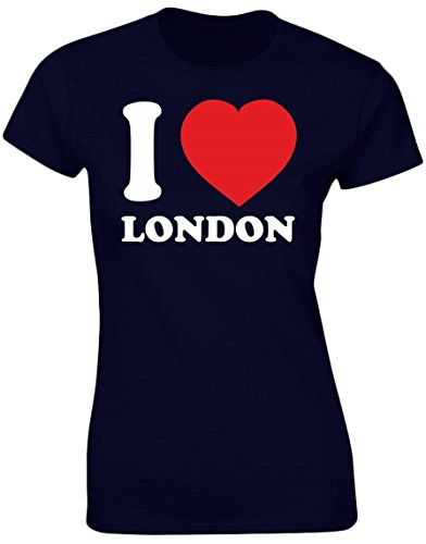 swagwear I Love London Funny Womens T-Shirt 8 Colours