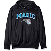adidas NBA Youth Boys Orlando Magic Pullover Fleece Hoodie, Black
