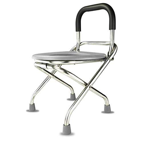 Moontang Stuhl aus Stahl, zusammenklappbar, bequem - -