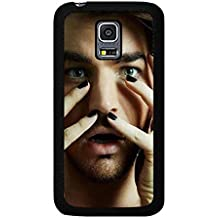 Funda Samsung Galaxy S5 Mini Adam Stylish Cover Shell Awesome Handsome Pop Singer Adam Lambert Phone caso Cover for Funda Samsung Galaxy S5 Mini