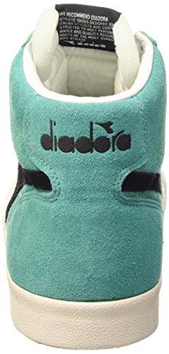 Diadora Unisex-Erwachsene Tennis 270 S H Sneaker Mehrfarbig - Azzurro Turchese/Noir