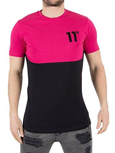 11-degrees-hombre-corte-curvado-y-coser-la-camiseta-del-logotipo-negro-medium