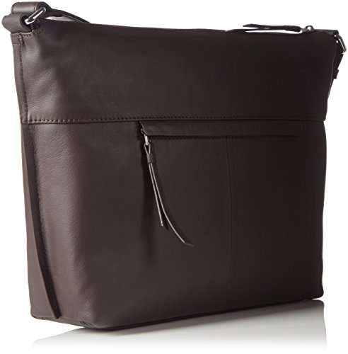 Bree Toulouse 2, Dark Brown, Cross Shoulder M, Sacs bandoulière Femme Marron (dark Brown 860)