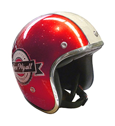 TORX casco de Moto Wyatt Famous Shiny Glitter
