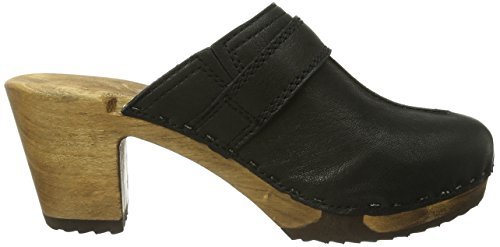 Woody Christina 12555, Chaussures femme Noir-TR-J4-19
