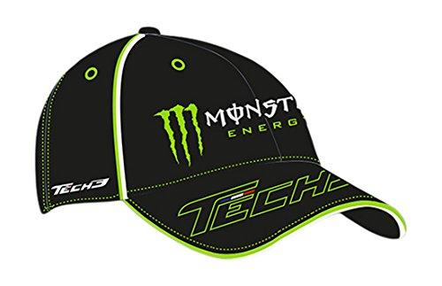 monster-tech3-gorra-para-hombre-color-negro-verde-tamano-fr-taille-fabricant-unique