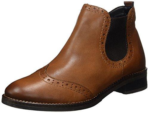 Remonte Damen D8581 Chelsea Boots, Braun, 42 EU