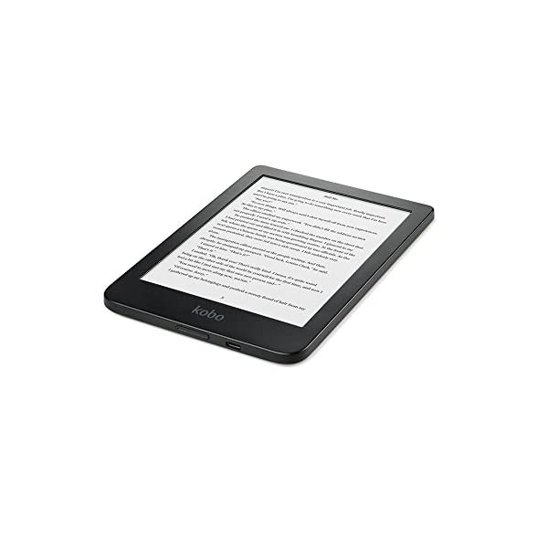 Kobo klare HD Touchscreen 8GB WiFi Schwarz E-Book e-Book Reader (15,2cm (6) E Ink Brief, CBR, Cbz, ePub DRM, HTML, Mobi, PDF, RTF, TXT, JPEG, BMP, GIF, PNG, Tiff, 8GB, Micro-USB)