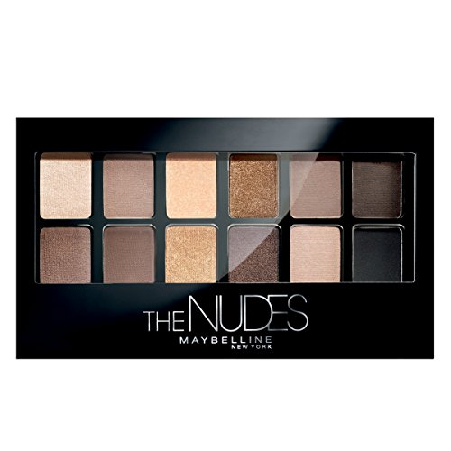 Maybelline New York The Nudes Palette Eyeshadow, 9g
