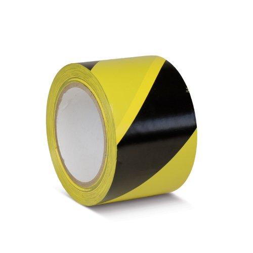 Sol Ruban adhésif de marquage standard Noir/Jaune, KMSW07533