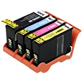 Set of 4 Compatible Lexmark No.150 XL CMYK Multi Pack High Yield Ink Cartridges