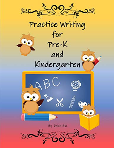 Practice Writing for Pre-K and Kindergarten
