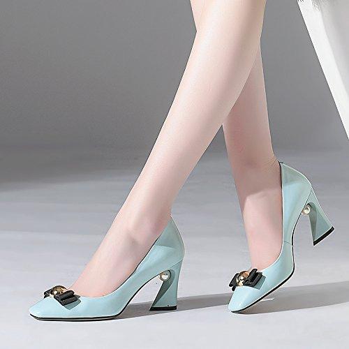 JIEEME zh3331, con Cinturino Alla Caviglia Donna Blue