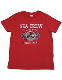 Stummer T-Shirt rot SEA CREW RESCUE TEAM