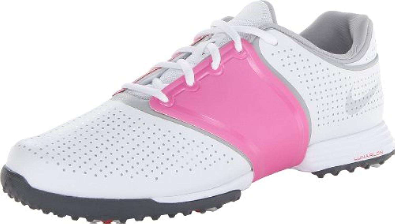 Nike Lunar Embellish. Golfschuhe. Premium-Vollnarbenleder. Air Dämpfung für Optimale Stoßdämpfung. Wasserbeständigkeitsgarantieö