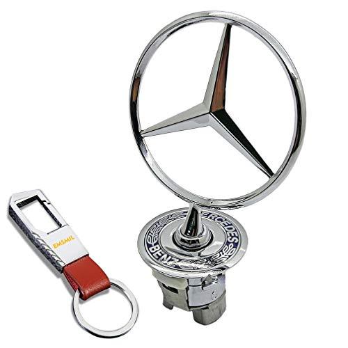 Emblem Stern Motorhaube Logo Sternemblem Motordeckel Kapuze für W202 W203 W210 W211 W220