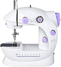 Rachees 4 in 1 Desktop Multi Functional Electric Household Sewing Machine
